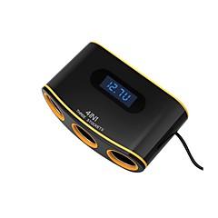 Недорогие Автоэлектроника-Автомобиль Прикуриватель / Автомобиль USB зарядное гнездо 2 USB порта для 12 V