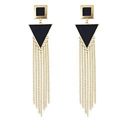 abordables Bijoux pour Femme-Femme Stylé Boucles d'oreille goutte - Chanceux Gland, Mode Jaune / Rouge / Vert Pour Quotidien Rendez-vous