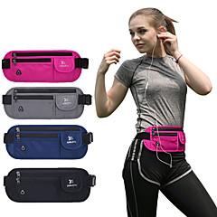 abordables Bolsas para Fitness-Riñoneras para Bicicleta / Viaje / Running Bolsas de Deporte Ligero / Resistente a la lluvia / Secado rápido Bolsa de Running Nailon Azul / Gris / Azul Real