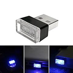 preiswerte Ausgefallene LED-Beleuchtung-brelong led auto schwarz usb zigarettenanzünder ändern dekorative atmosphäre licht 1 stücke