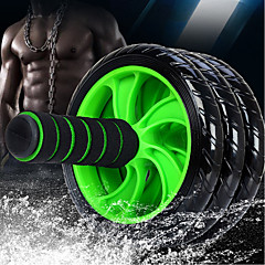 abordables Accesorios para Fitness-15 cm Rodillo de rueda Ab Con 1 Passepartout Cómodo, Extra Firme Antideslizante, Extensión, Mejorando curvas hacia atrás PVC (PVJ), PP+ABS Para Fitness / Gimnasia / Rutina de ejercicio Cintura