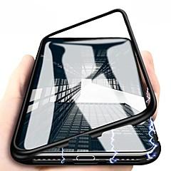 Недорогие Кейсы для iPhone 7-Кейс для Назначение Apple iPhone X / iPhone 8 Plus Магнитный Чехол Однотонный Твердый Металл для iPhone X / iPhone 8 Pluss / iPhone 8