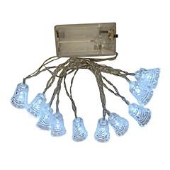 お買い得  LED ストリングライト-1.5m ストリングライト 10 LED Dip LED 温白色 / ホワイト / マルチカラー 装飾用 単3乾電池 1個
