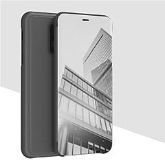 お買い得  その他のケース-ケース 用途 OnePlus OnePlus 6 ウォレット / スタンド付き / ミラー フルボディーケース ソリッド ハード PUレザー のために OnePlus 6