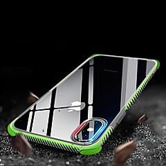Недорогие Кейсы для iPhone X-Кейс для Назначение Apple iPhone XR / iPhone XS Max Защита от удара / Полупрозрачный Кейс на заднюю панель Однотонный Мягкий ТПУ для iPhone XS / iPhone XR / iPhone XS Max