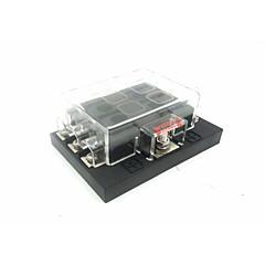 Недорогие Автоэлектроника-dc32v 100a коробка предохранителя для автомобиля / корабля в сборе 6-контактный выход (30a за контур)