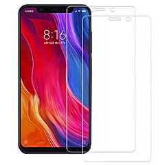 Недорогие Защитные плёнки для экранов Xiaomi-asling протектор экрана для xiaomi xiaomi mi 8 se закаленное стекло 2 шт. защита переднего экрана 9ч. твердость / 2.5d изогнутый край / взрывозащищенный