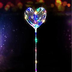 preiswerte Ausgefallene LED-Beleuchtung-3m 30led führte Sternschnur herzförmige Ballonliebe beleuchtet Girlande für Weihnachtshochzeits-Inneneinrichtung