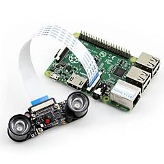 お買い得  Arduino 用アクセサリー-waveshare rpi camera(e)はナイトビジョンをサポートしています