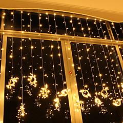 preiswerte LED Lichtstreifen-6m Leuchtgirlanden 600 LEDs Warmes Weiß Dekorativ 220-240 V 1 set