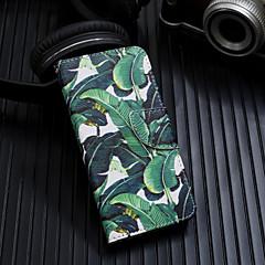 Недорогие Кейсы для iPhone-Кейс для Назначение Apple iPhone XS / iPhone XS Max Флип / С узором Чехол дерево Твердый Кожа PU для iPhone XS / iPhone XR / iPhone XS Max