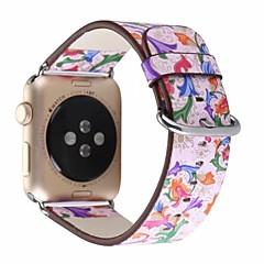 お買い得  メンズ腕時計-本革 / ポリウレタン 時計バンド ストラップ のために Apple Watch Series 4/3/2/1 ピンク 23センチメートル / 9インチ 2.1cm / 0.83 Inch
