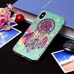 お買い得  iPhone 5S/SE ケース-ケース 用途 Apple iPhone XS / iPhone XS Max IMD / 半透明 バックカバー ドリームキャッチャー ソフト TPU のために iPhone XS / iPhone XR / iPhone XS Max
