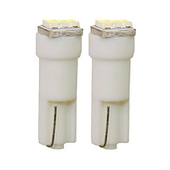 abordables Accesorios para Coche-SENCART 2pcs T5 Coche Bombillas 1 W SMD 3014 30 lm 3 LED Luces interiores Para