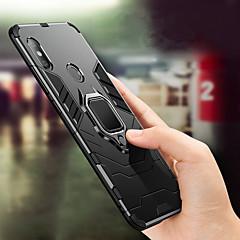 Недорогие Чехлы и кейсы для Xiaomi-Кейс для Назначение Xiaomi Mi 8 / Mi 8 SE Защита от удара / Кольца-держатели Кейс на заднюю панель Однотонный Твердый ПК для Xiaomi Mi Max 3 / Xiaomi Mi 8 / Xiaomi Mi 8 SE