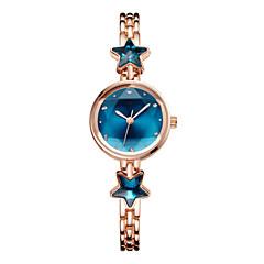 preiswerte Damenuhren-Damen Armbanduhr Quartz 30 m Armbanduhren für den Alltag bezaubernd Imitation Diamant Legierung Band Analog Modisch Elegant Silber / Rotgold - Silber Blau Rotgold