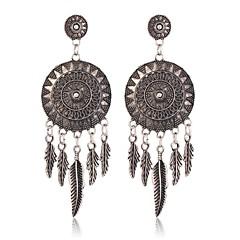 preiswerte Ohrringe-Damen Quaste Tropfen-Ohrringe - Anhänger Stil, Renaissance Silber Für Verabredung Festival