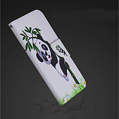 Недорогие Кейсы для iPhone X-Кейс для Назначение Apple iPhone XR / iPhone XS Max Кошелек / Бумажник для карт / со стендом Чехол Панда Твердый Кожа PU для iPhone XS / iPhone XR / iPhone XS Max