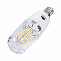 お買い得  LED 電球-YWXLIGHT® 1個 4 W 300-400 lm E14 / E26 / E27 フィラメントタイプLED電球 4 LEDビーズ SMD 温白色 / クールホワイト 85-265 V