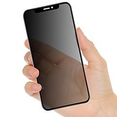 Недорогие Защитные пленки для iPhone X-Защитная плёнка для экрана для Apple iPhone XS / iPhone XR / iPhone XS Max Закаленное стекло 1 ед. Защитная пленка для экрана Уровень защиты 9H / Защита от царапин / Anti-Spy