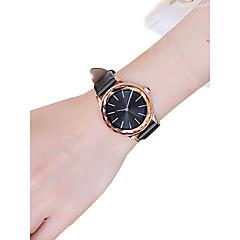 preiswerte Damenuhren-Damen Armbanduhr Quartz 30 m Neues Design PU Band Analog Freizeit Modisch Schwarz / Weiß / Rot - Schwarz Kaffee Rot