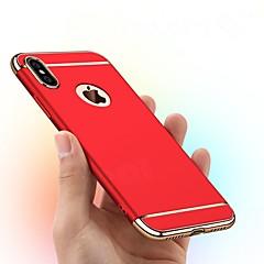 Недорогие Кейсы для iPhone 6-Кейс для Назначение Apple iPhone XR / iPhone XS Max Покрытие / Матовое Кейс на заднюю панель Однотонный Твердый ПК для iPhone XS / iPhone XR / iPhone XS Max