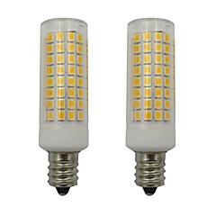 preiswerte LED-Birnen-2pcs 5 W 460 lm E12 LED Mais-Birnen 102 LED-Perlen SMD 2835 Dekorativ Warmes Weiß / Kühles Weiß 220-240 V
