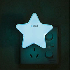 preiswerte Ausgefallene LED-Beleuchtung-brelong intelligente lichtsteuerung induktion european standard star nachtlicht 1 stück