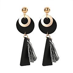 abordables Bijoux pour Femme-Femme Glands Boucles d'oreille goutte - Rétro, Européen, Mode Noir Pour Casual Quotidien