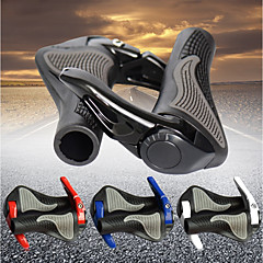 abordables Puños y Manguitos para Manillar-Manillar Set Ciclismo / Bicicleta / Bicicleta / Bicicleta de Montaña A prueba de resbalones / flexible ajustable / Duradero Caucho / Aleación de aluminio Negro / Rojo / Azul