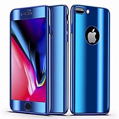 Недорогие Кейсы для iPhone 7 Plus-Кейс для Назначение Apple iPhone 8 Plus / iPhone 7 Plus Зеркальная поверхность / Ультратонкий Чехол Однотонный Твердый ПК для iPhone 8 Pluss / iPhone 7 Plus
