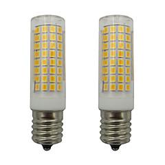 preiswerte LED-Birnen-2pcs 5 W 460 lm E17 LED Mais-Birnen 102 LED-Perlen SMD 2835 Warmes Weiß / Kühles Weiß 220-240 V