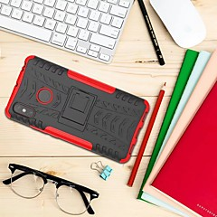Недорогие Чехлы и кейсы для Xiaomi-Кейс для Назначение Xiaomi Xiaomi Mi Max 3 Защита от удара / со стендом Кейс на заднюю панель броня Твердый ПК для Xiaomi Mi Max 3