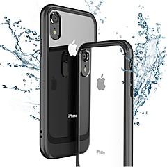 Недорогие Кейсы для iPhone 7-Кейс для Назначение Apple iPhone XR / iPhone XS Max Ультратонкий / Прозрачный Кейс на заднюю панель Однотонный Твердый ПК для iPhone XS / iPhone XR / iPhone XS Max