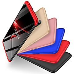 お買い得  その他のケース-ケース 用途 OnePlus OnePlus 6 耐衝撃 / つや消し バックカバー ソリッド ハード PC のために OnePlus 6
