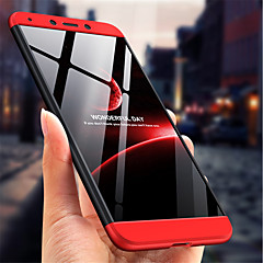 Недорогие Чехлы и кейсы для Xiaomi-Кейс для Назначение Xiaomi Redmi 6 Защита от удара / Матовое Кейс на заднюю панель Однотонный Твердый ПК для Redmi 6