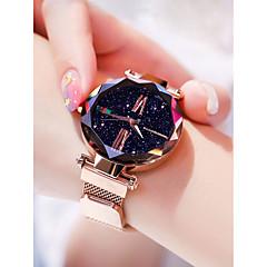 preiswerte Damenuhren-Damen Armbanduhr Quartz 30 m Wasserdicht Kreativ Legierung Band Analog Freizeit Modisch Schwarz / Blau / Lila - Purpur Blau Rotgold
