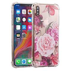 Недорогие Кейсы для iPhone 6 Plus-Кейс для Назначение Apple iPhone XS / iPhone XR С узором Чехол Мультипликация Мягкий пластик для iPhone XS / iPhone XR / iPhone XS Max