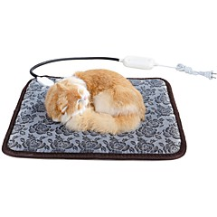 お買い得  猫ケア用品、グルーミング-猫用 ベッド ペット用 毛布 ソリッド / 幾何学模様 保温 / 調整可能 / 引き込み式 / 自動 ペット用