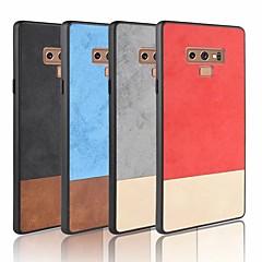 abordables Galaxy Note 4 Carcasas / Fundas-Funda Para Samsung Galaxy S9 Plus / S9 Congelada Funda Trasera Un Color Suave Cuero de PU para Note 9 / Note 8 / Note 4
