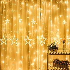 お買い得  LED ストリングライト-4m ストリングライト 138 LED 温白色 装飾用 220-240 V 1セット