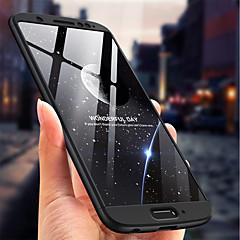 Недорогие Чехлы и кейсы для Motorola-Кейс для Назначение Motorola MOTO G6 Защита от удара / Матовое Кейс на заднюю панель Однотонный Твердый ПК для MOTO G6