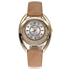 お買い得  レディース腕時計-女性用 リストウォッチ クォーツ ブラック / 白 / ブルー クロノグラフ付き キュート 光る ハンズ レディース ぜいたく バングル - レッド ブルー カーキ色 1年間 電池寿命 / 模造ダイヤモンド / SSUO 377