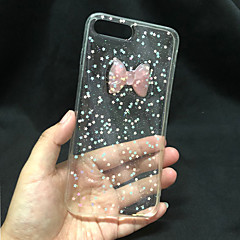 Недорогие Кейсы для iPhone 6 Plus-Кейс для Назначение Apple iPhone 6s Plus Прозрачный / Сияние и блеск Кейс на заднюю панель Сияние и блеск Твердый ПК для iPhone 8 / iPhone 7 / iPhone 6s Plus