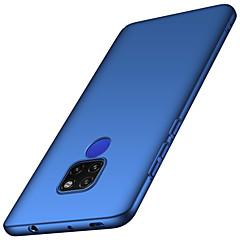 Недорогие Чехлы и кейсы для Huawei Mate-Кейс для Назначение Huawei Huawei Mate 20 Lite / Huawei Mate 20 Pro Матовое Кейс на заднюю панель Однотонный Твердый ПК для Mate 10 / Mate 10 pro / Mate 10 lite / Mate 9 Pro