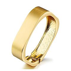 お買い得  ブレスレット-女性用 ゴールド レトロ カフブレスレット  -  ヴィンテージ ブレスレット ゴールド 用途 日常 パーティー