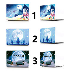 """abordables Accesorios para Mac-MacBook Funda Navidad CLORURO DE POLIVINILO para Nuevo MacBook Pro 15"""" / Nuevo MacBook Pro 13"""" / MacBook Pro 15 Pulgadas"""