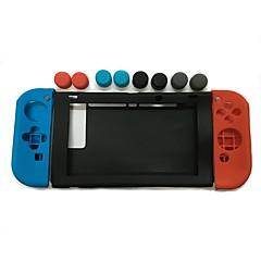 Недорогие Аксессуары для Nintendo Switch-Комплекты игровых аксессуаров Назначение Nintendo Переключатель ,  обожаемый Комплекты игровых аксессуаров Силикон 11 pcs Ед. изм