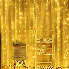 お買い得  LED ストリングライト-4m ストリングライト 96 LED 温白色 装飾用 220-240 V 1セット