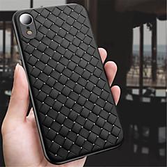 Недорогие Кейсы для iPhone 7-Кейс для Назначение Apple iPhone XR / iPhone XS Max Рельефный Кейс на заднюю панель Однотонный Мягкий ТПУ для iPhone XS / iPhone XR / iPhone XS Max